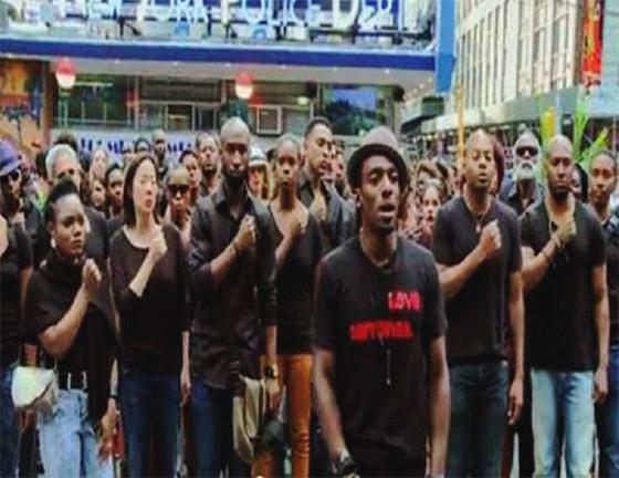 New York : 1 500 rassemblées contre la violence… de la police