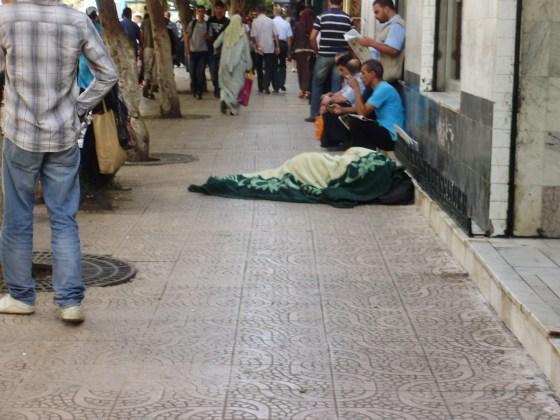 SDF et malades mentaux se partagent la rue