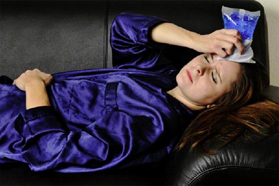 Les crises migraineuses persistent souvent jusqu'à 3 jours