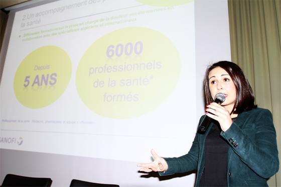 Formations des professionnels  de la santé grâce au déploiement de plusieurs initiatives