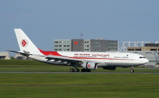 Antécédent grave: un avion d'Air Algerie saisi à Bruxelles