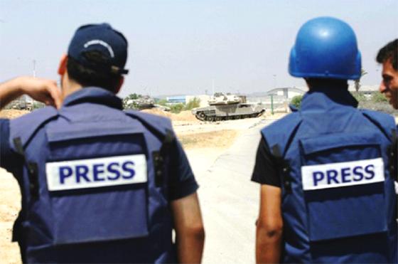 66 journalistes tués en 2014