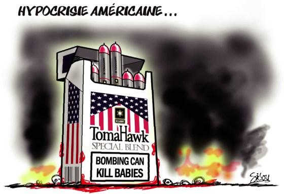 Hypocrisie Américaine…