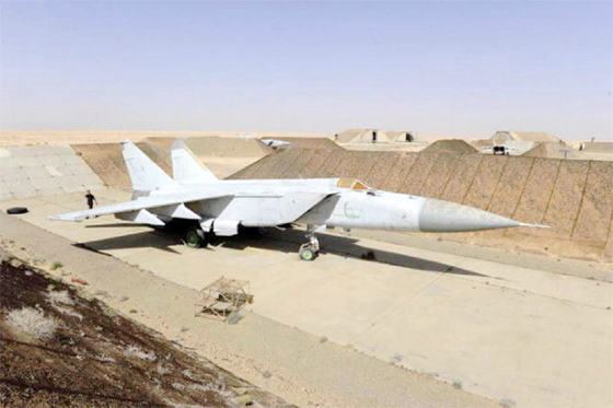 Une grande base militaire libyenne, dans l'escarcelle de l'OTAN