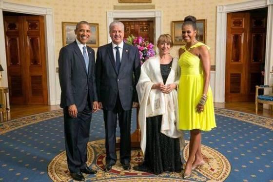 Photo trend: Le couple Sellal et le couple Obama fait le buzz