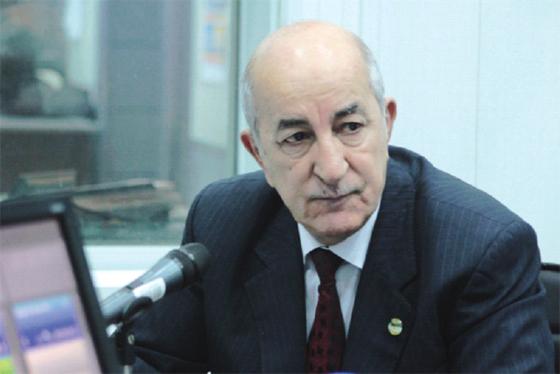 Tebboune appelle à une politique de gestion commune des risques