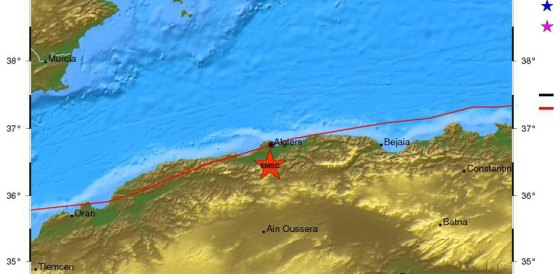 Un séisme de 4.9 degrés à Blida et Alger