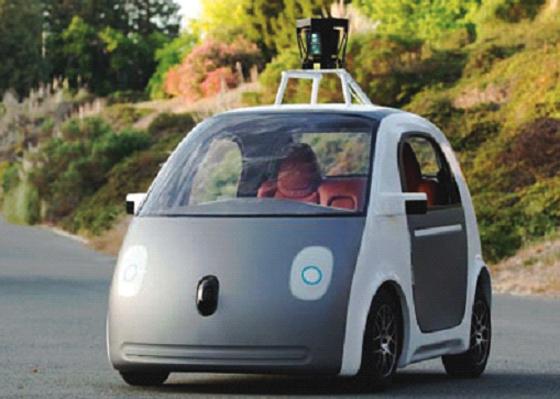 Google démarre les essais de sa voiture sans volant, ni pédale