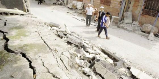 Séisme: des dégâts matériels importants à Hammam Melouane et Chebli