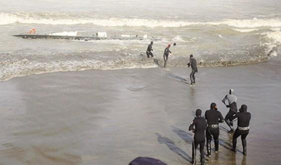 Le BMS qui sauve : Une tempête a failli provoquer une catastrophe au port d'Alger