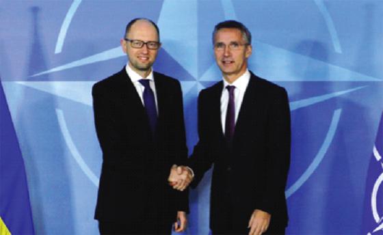 Kiev accélère le processus de rapprochement avec l'Otan
