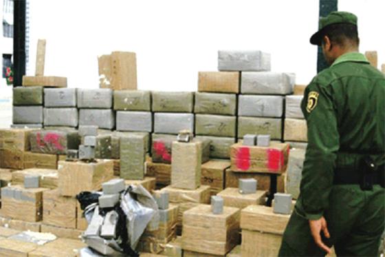 Plus de 6000 kg de kif saisis à Tlemcen
