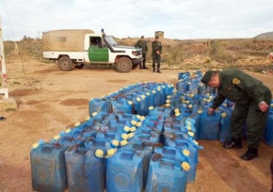 Huit contrebandiers arrêtés et 1 400 litres de carburant saisis