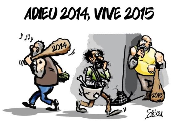 Adieu 2014, Vive 2015