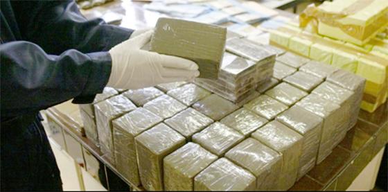 Une tonne de cannabis saisie et deux contrebandiers arrêtés
