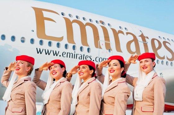 Emirates fête la nouvelle année avec une promotion de 35 %