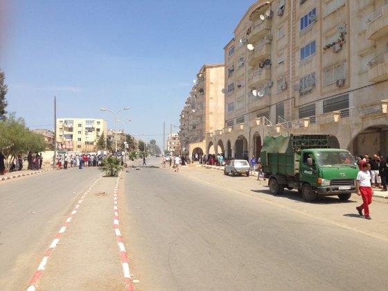 Relogement à Alger : Les habitants du bidonville de Douéra coupent la route