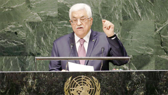 Mahmoud Abbas va soumettre une nouvelle résolution