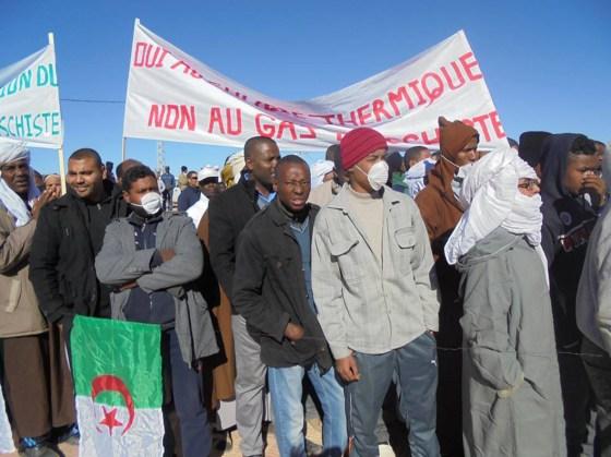 Mobilisation contre le gaz de schiste: In-salah ne lâche pas