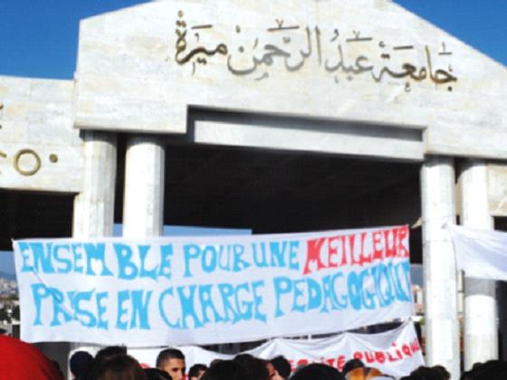Béjaïa : Les étudiants bloquent l'université…