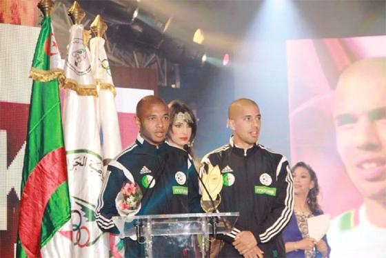 Brahimi, Feghouli et Rouba meilleurs sportifs de l'année 2014