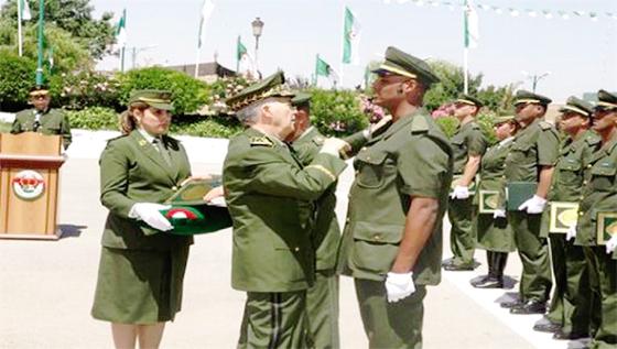 Plus de 500 nouveaux officiers gendarmes sur le front