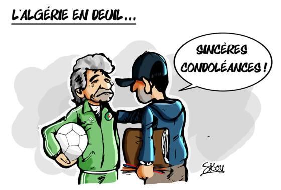 L'Algérie en Deuil