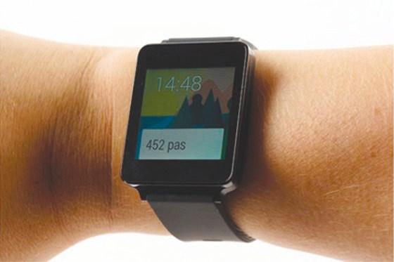 LG G Watch : une 1ère montre connectée sous Android Wear