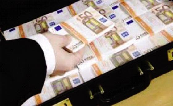 Une banque étrangère transfère  400 millions d'euros illégalement