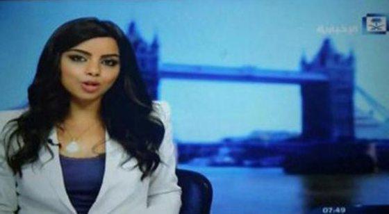Une présentatrice saoudienne sans hidjab fait le buzz