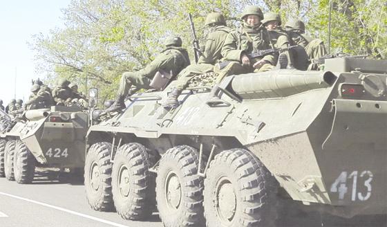Cinq mille soldats de l'Otan aux frontières russes