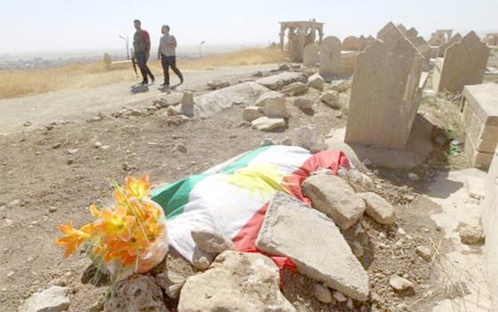 Une signature de l'OTAN: 23 corps de Yazidis déterrés à Erbil