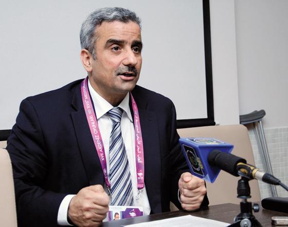 Tahmi insiste sur le rapprochement des Comités olympiques espagnol et algérien