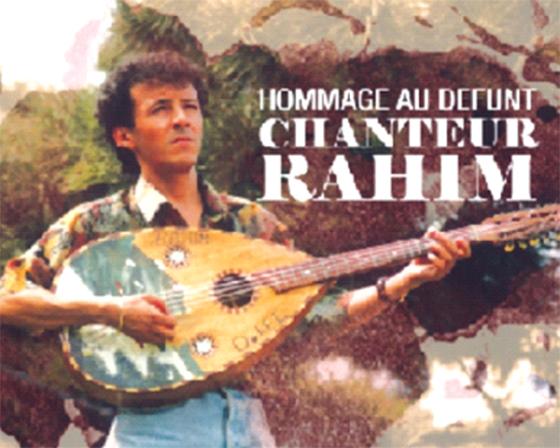 Hommage au chanteur Rahim