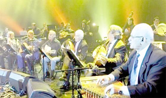 La première de l'orchestre El Gusto