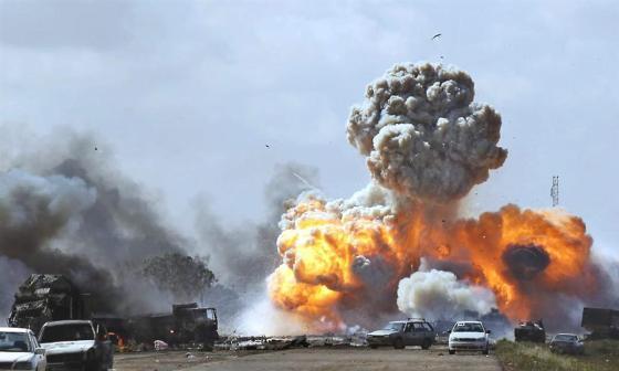 Le scenario d'une nouvelle intervention militaire étrangère en Libye