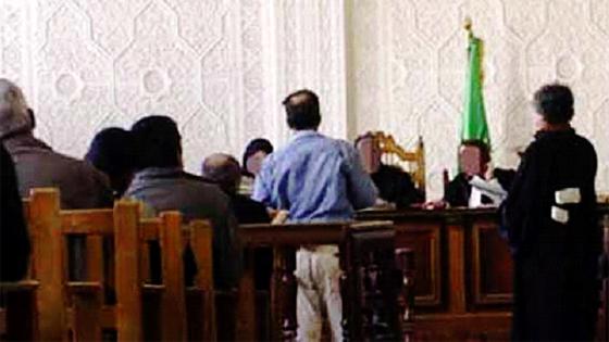 Un acolyte de Houdaifa El-Djound condamné à sept ans de prison