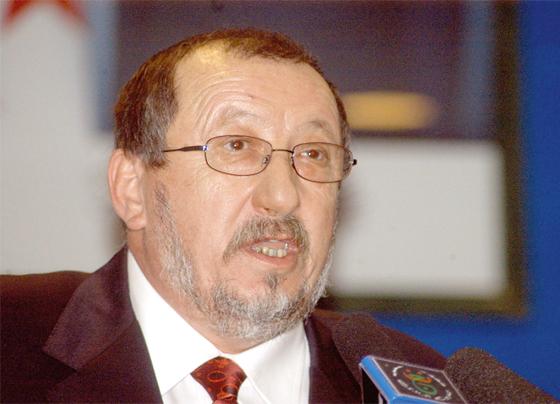 Abdelmadjid Sidi Saïd insiste sur la dépénalisation de l'acte de gestion