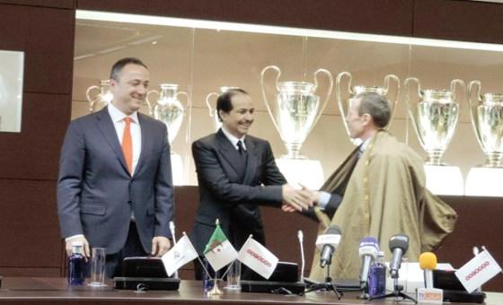 Ooredoo partenaire officiel avec le Real Madrid en Algérie