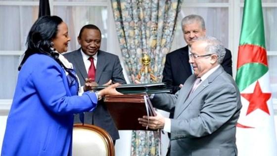 Vers la création d'une ligne aérienne entre l'Algérie et le Kenya