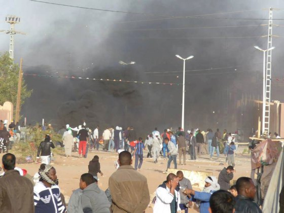 In Salah: Heurts entre forces de l'ordre et manifestants