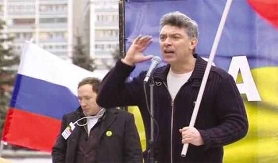 Russie : Marche en mémoire de Nemtsov