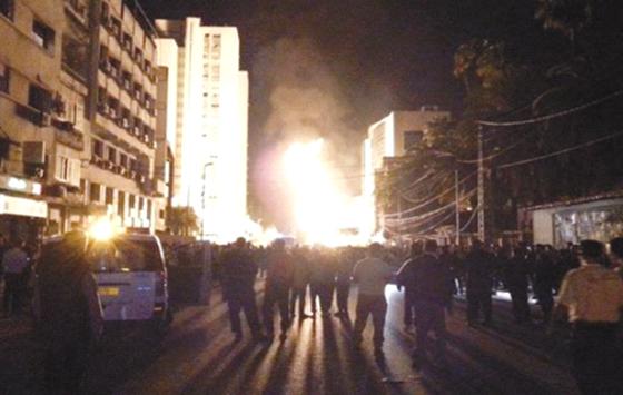 Grande explosion de gaz à Bir Mourad Rais