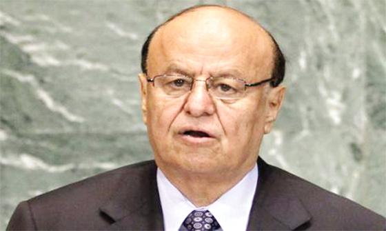 Hadi propose une conférence de sortie de crise à Ryad