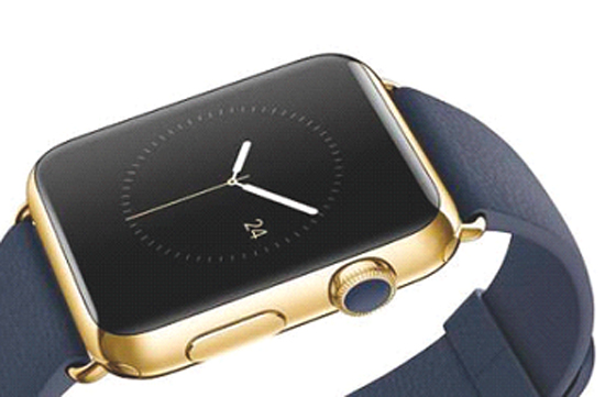 L'Apple Watch, une montre connectée classique, jolie… et très chère