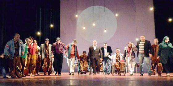 Standing ovation pour ces artistes handicapés