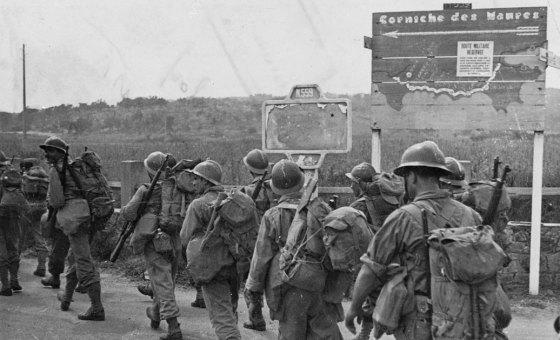 Débarquement du 15 Août 1944: Légion d'honneur pour 5 algériens