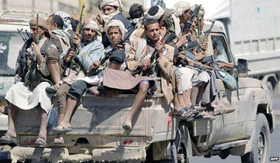 Résistance de l'armée gouvernementale sur la route d'Aden