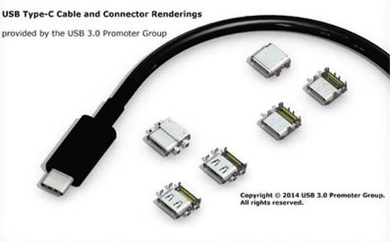 Le connecteur USB 3.1 réversible est finalisé et bientôt en production