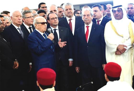 Gratitude envers l'Algérie